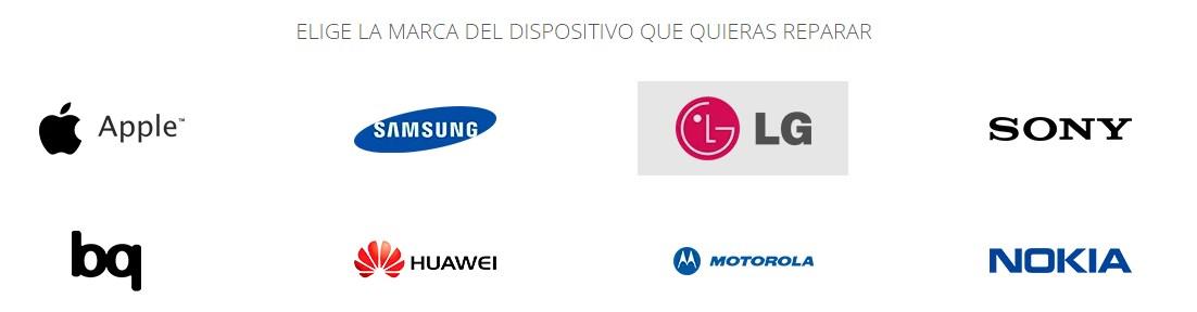 reparacion moviles marcas